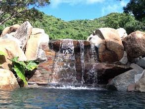SXM waterfall