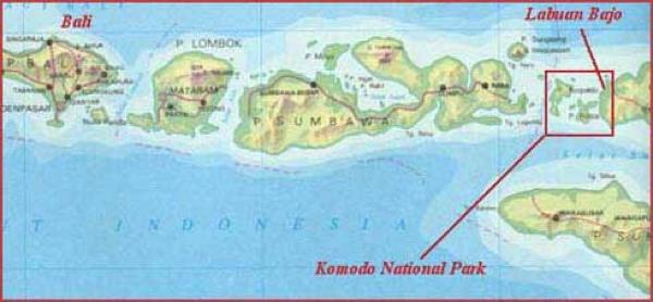 Komodo-map