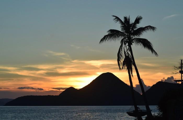 bvi sunset