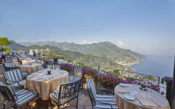 Dining Terrace at the Hotel Caruso