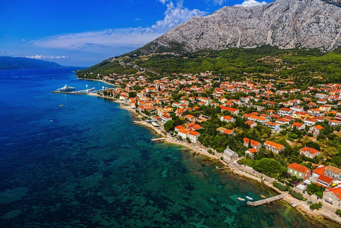 Peljesac peninsula in Croatia