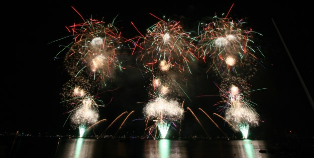Cannes Fireworks 2017