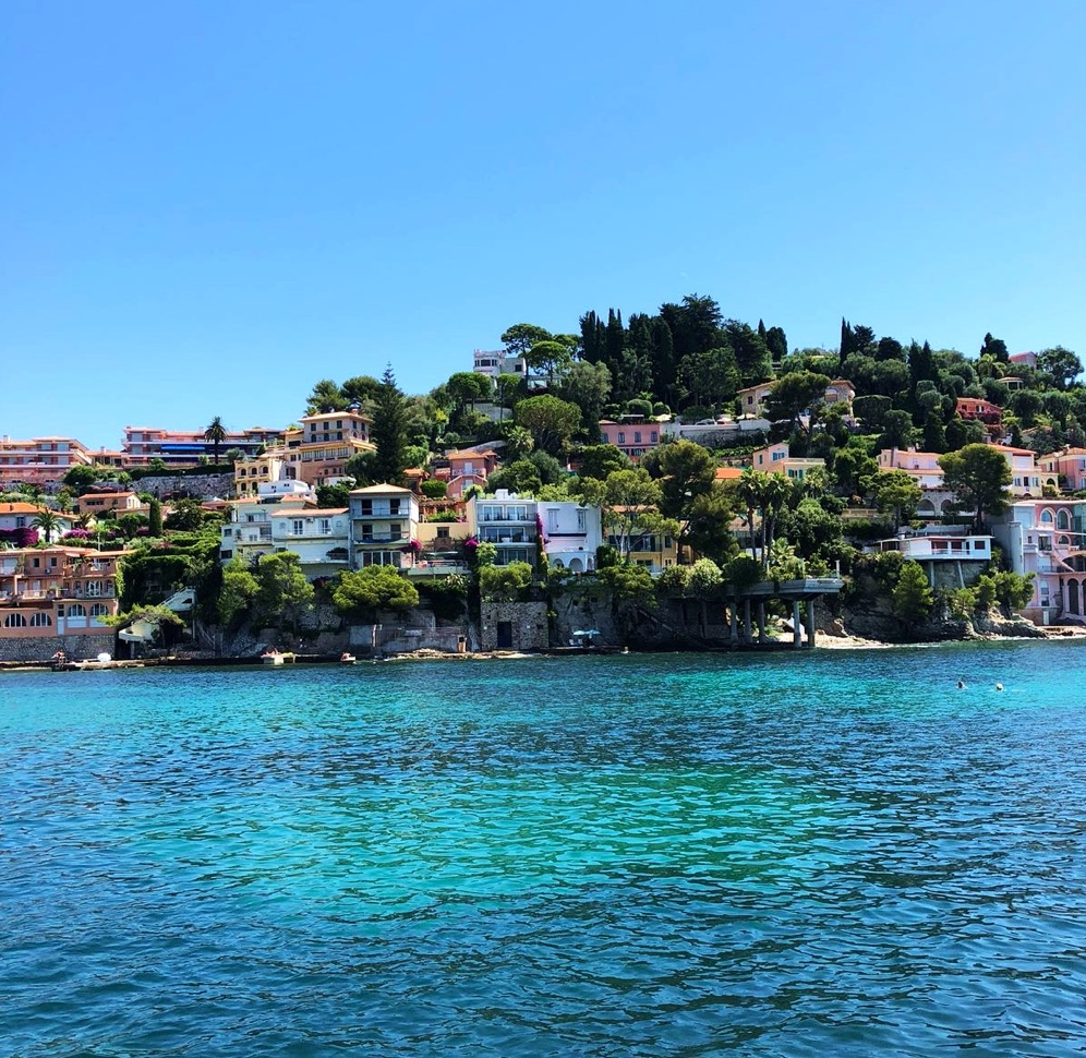 french riviera, villefranche sur mer, day charter, day on a boat, villefranche, eze, monaco
