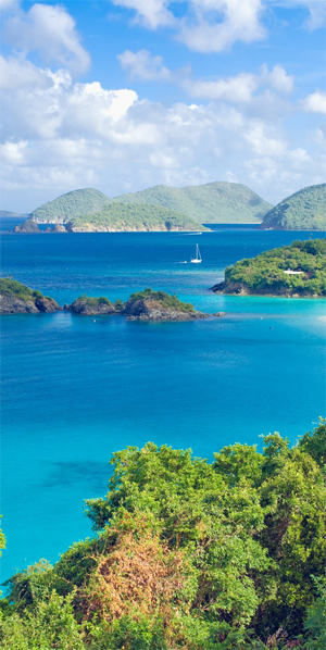 The varied destinations of the BVI