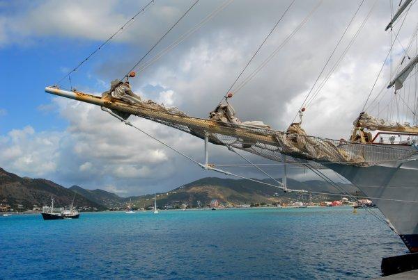st maarten boat view
