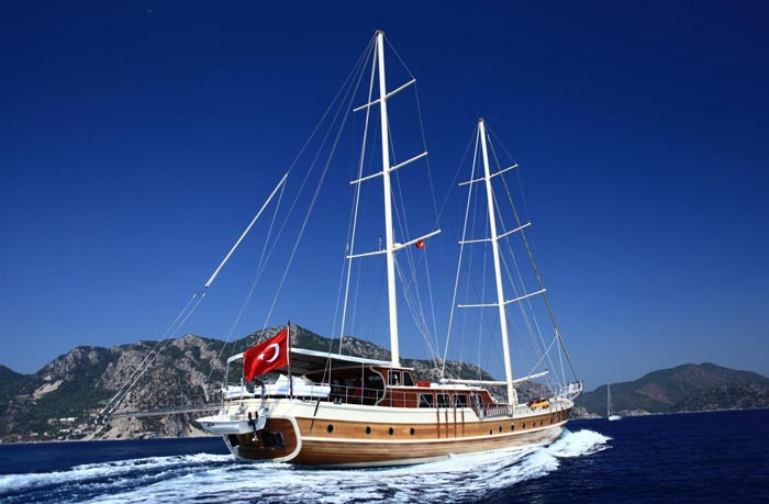 Luxury Blue Cruising in South West Turkey