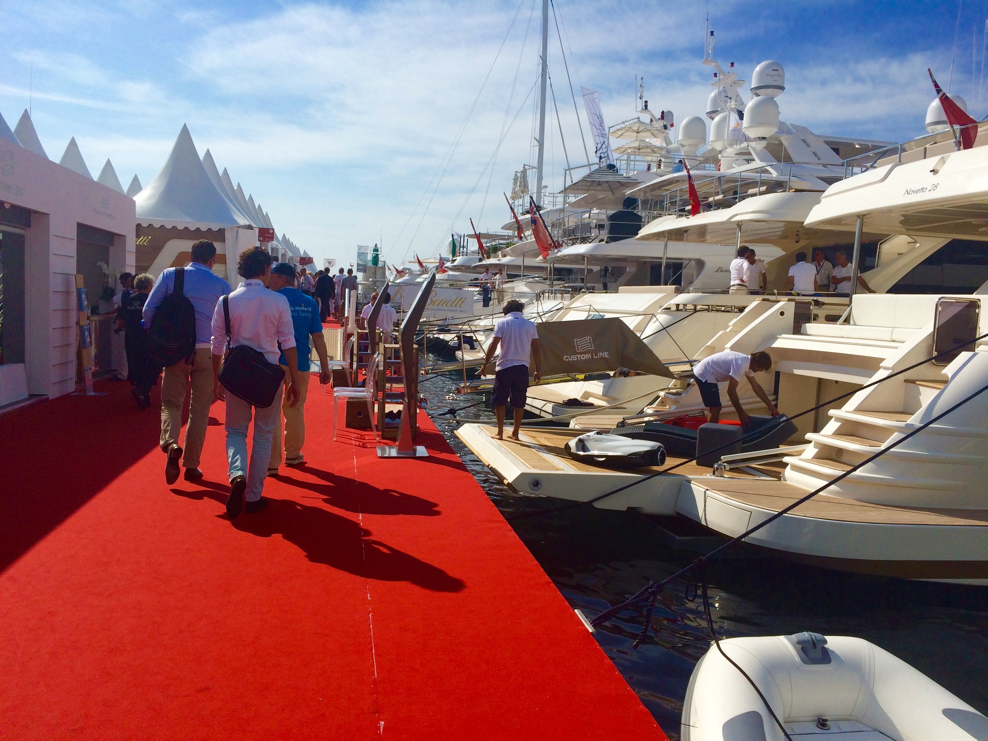 Charter a yacht to see the annual MIPIM conference