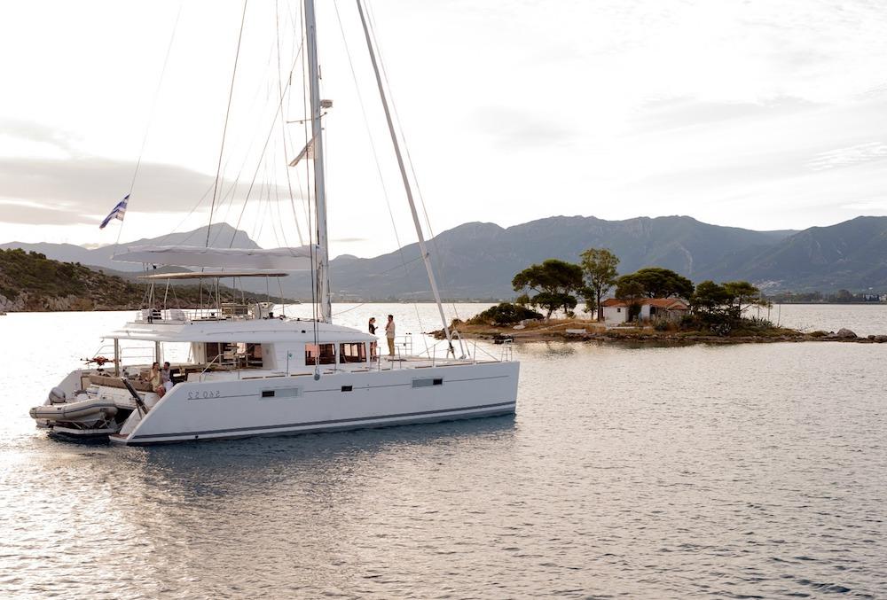 crewed catamaran charter, boat rental Greece, Greece yacht charter