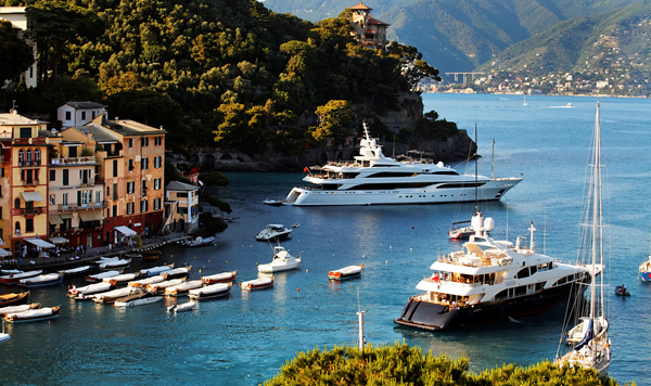 A glorious Luxury Super Yacht in the Mediterranean