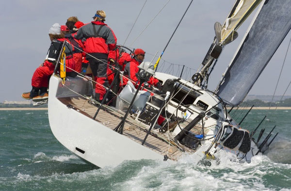 The excitement of a sailing race