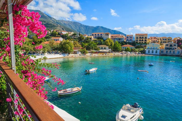 Charter a yacht in the stunning Ionian Islands