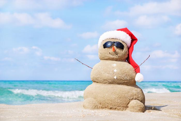 Spend Christmas in Thailand in the sunshine