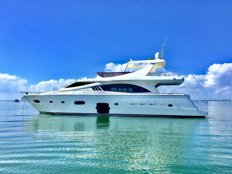 Charter Yacht DR NO - Ferretti 75 - Miami Day Charter Yacht - Miami - South Beach - Florida