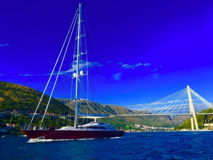 Charter Yacht HELIOS - Perini Navi 45m - 4 Cabins - Leeward Islands - Virgin Islands - Croatia - Sicily