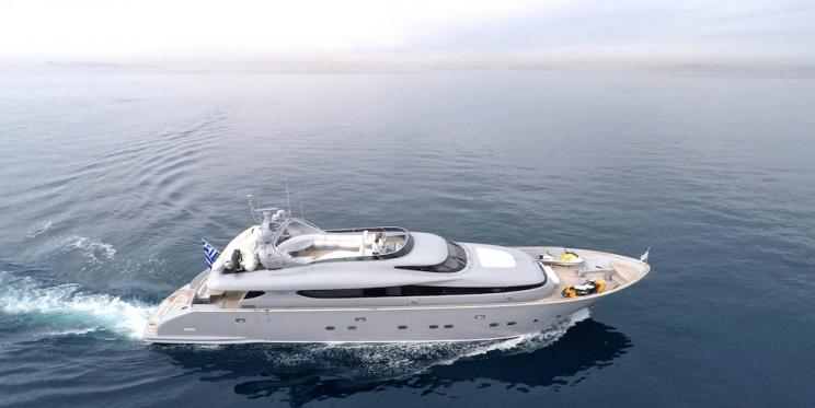 Charter Yacht IF - Maiora 31m - 4 Cabins - Athens - Mykonos - Milos