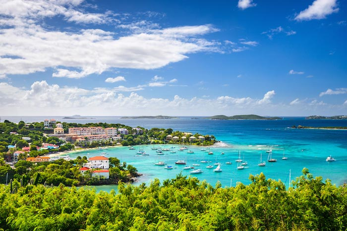 Charter a yacht to St Thomas