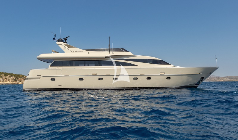 Charter Yacht ANAMEL - Admiral 90 - 5 Cabins - Athens - Mykonos - Paros