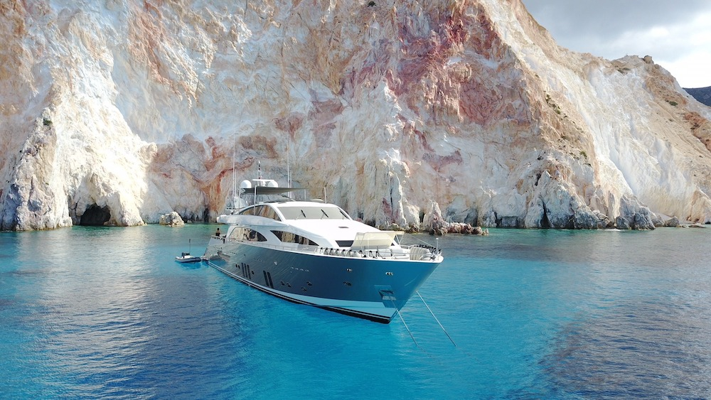 Dragon Guy Couach 37m 6 Cabins Athens Mykonos Santorini