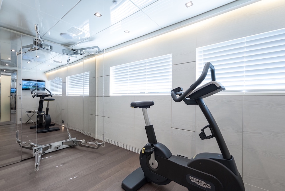 ENTOURAGE Admiral 47m Luxury Superyacht Gym