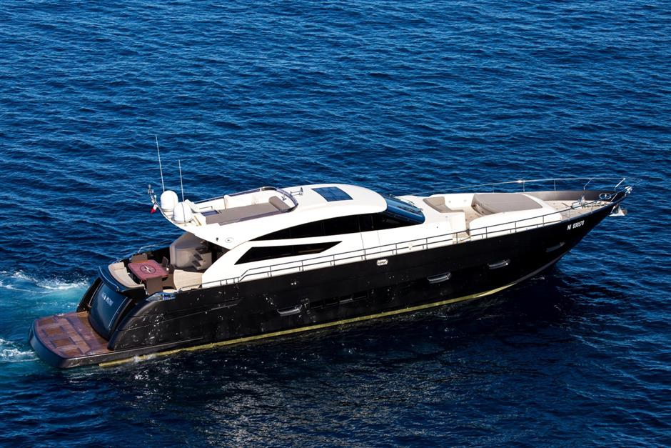 NEA MONI Cayman 75 Luxury Yacht Running
