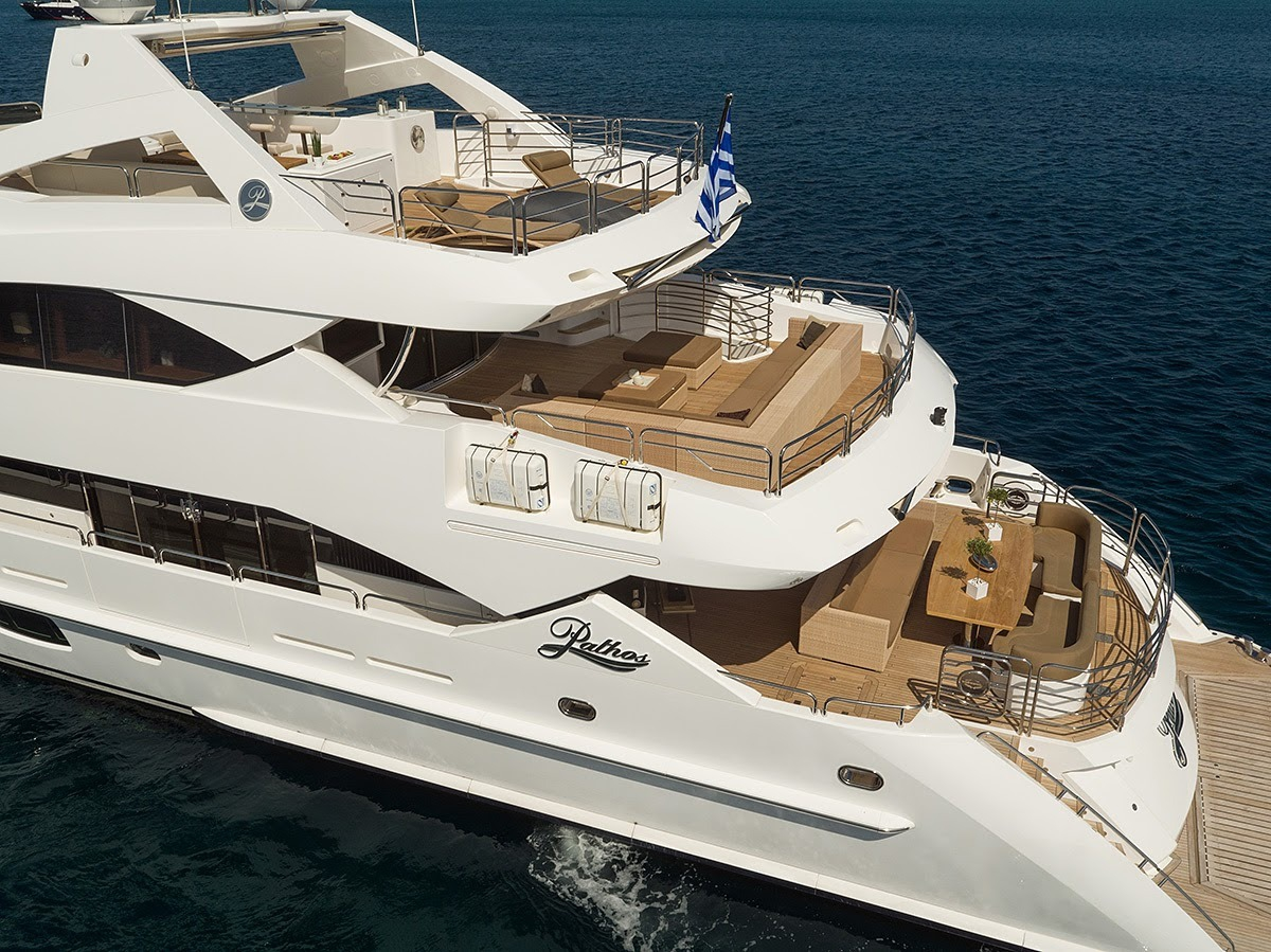 Pathos Sunseeker 40m Tri Deck Design