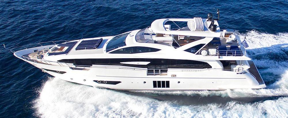 Azimut Grande 30 Metri MEMORIES TOO Running