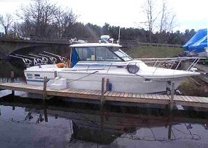 Fishing Boat 28ft Baha Cruiser - Fishing Boat - Mexico Point NY