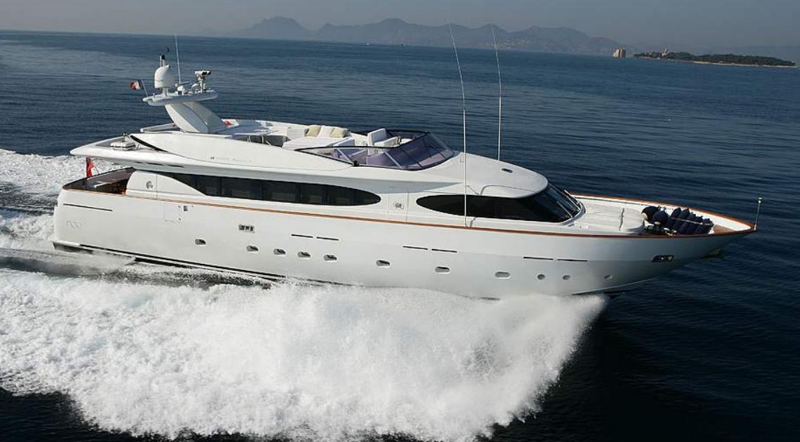 Charter Yacht TALILA | Mondomarine 29m | 4 Cabins | Monaco | Cannes | St Tropez