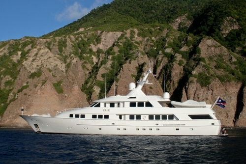 Charter Yacht ELLE - 151 Tacoma - 5 Cabins - Bahamas - Virgin Islands - Leeward Islands - Windward Islands
