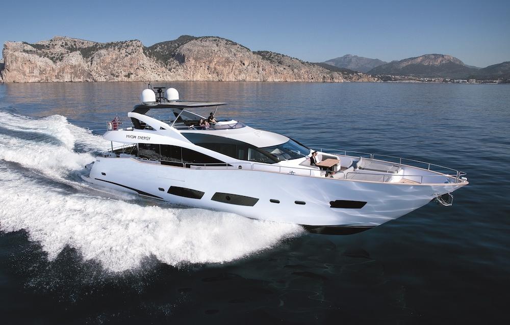 Charter Yacht HIGH ENERGY | Sunseeker 28m | Palma | Ibiza | Formentera