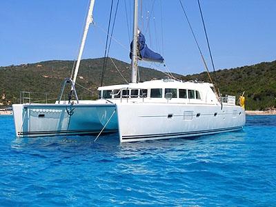 Crewed Catamaran Lagoon 500 - 5 Cabins - Corsica - French Riviera