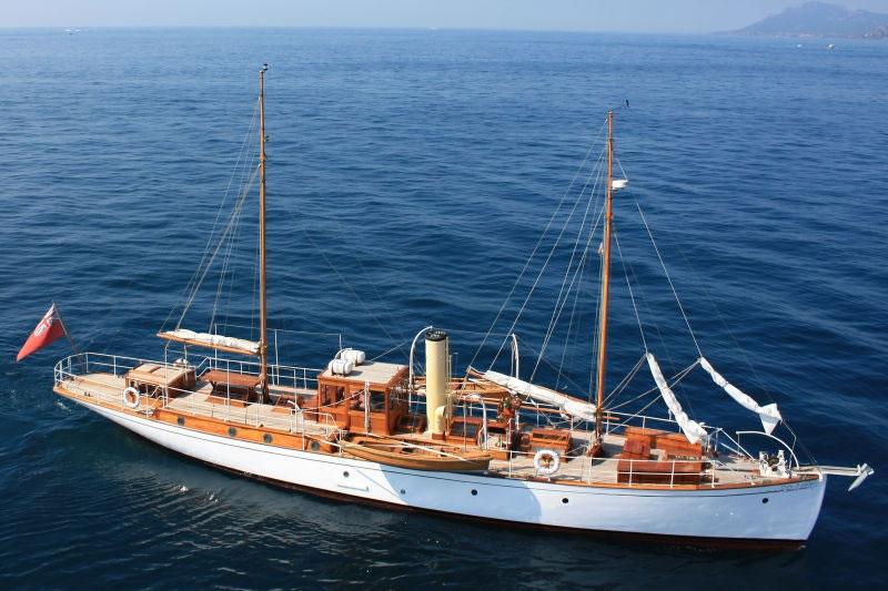 Luxury Charter Yacht ROMOLA - Classic Schooner Motor Sailer - Turkey ...