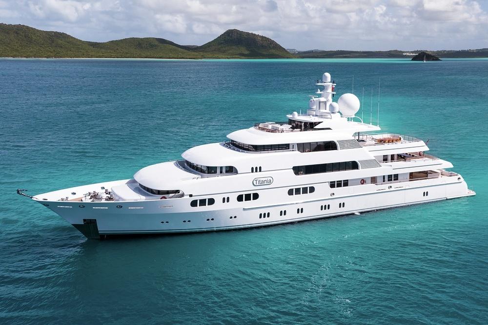 Charter Yacht TITANIA | Lurssen 72m | 7 Cabins | Monaco | Phuket | Langkawi | Southeast Asia