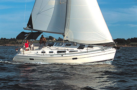 Bareboat Sailboat Hunter 306 - 2 Cabins - Miami