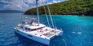 Crewed Catamaran Luxury Charter